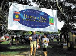 Hawkes Bay Farmers Market - Sundays 8.30-12.30pm
